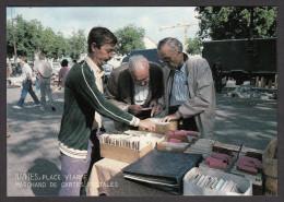 CPM  44 - NANTES - L'Aventure Carto - Place Viarme - Marchand De Cartes - 1987 - Nantes