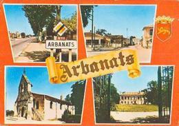 Gironde        H450        ARBANATS ( 4 Vues ) - Sonstige Gemeinden