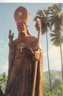 TAIOHAE NUKU HIVA  Statue De M. Dodillon ... Fondateur De L'Eglise Des Iles Marquises  - RV - - Polynésie Française