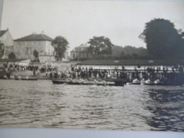 Creil  14 Juillet 1930 Course D Aviron ( Carte Photo) - Creil