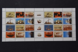 ANTILLEN ANTILLES 2003 SHEET SAILING SHIPS ZEILBOTEN MNH VERY FINE - Curacao, Netherlands Antilles, Aruba