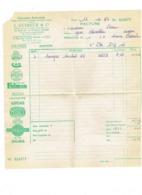 Facture J. GUIHEUX ANGERS - 1964 - Automobile BOSCH DUCELLIER FULMEN JAEGER LAVALETTE LUCAS NAFRA MARELLI SIGMA - Automobile