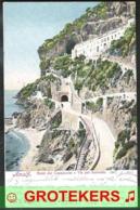 AMALFI Hotel Del Cappuccini E Via Per Sorrento 1906 To HORN (NL) - Italië