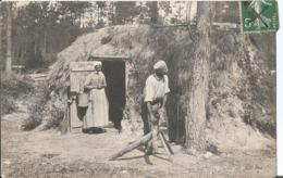 CPA 1152 -  EN SOLOGNE Cabane De Bucheron - France
