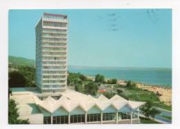 Bulgarie: Varna, Slatni Pjassazi Hotel International, Par Avion (19-1763) - Bulgarie