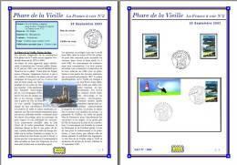 Planche Album Expo : France 2003 : 3601  Phare De La Vieille France à Voir N°2 - Albums & Reliures