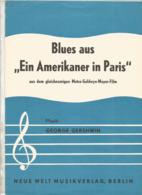 Partition Musicale Ancienne  , GEORGES GERSHWIN , EIN AMERIKANER IN PARIS , Frais Fr 1.85e - Partitions Musicales Anciennes