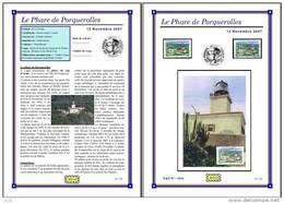 Planche Album Expo : France 2007 : 4116 Phare De Porquerolles - Albums & Reliures