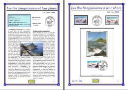 Planche Album Expo : France 1996 : 3019  Les Iles Sanguinaires Et Leur Phare - Albums & Reliures
