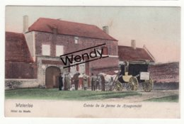 Waterloo (entrée De La Ferme De Hougomont Avec Diligence - Color)   Mooi - Waterloo