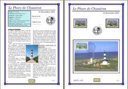 Planche Album Expo : France 2007 : 4117 Phare De Chassiron - Albums & Reliures