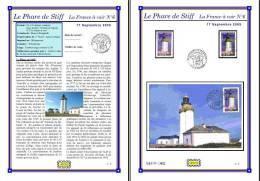 Planche Album Expo : France 2005 : 3822  Phare De Stiff France à Voir N°6 - Albums & Reliures