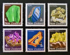 MINERAUX 1982 - NEUFS ** - YT 825/30 - MI 855/60 - Nouvelle-Zélande