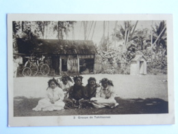 CPA FRANCE - TAHITI - Polynésie Française - Groupe De Tahitiennes - Polynésie Française