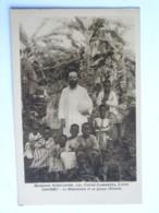 CPA AFRIQUE DAHOMEY - Missions Africaines, 150 Cours Gambetta, LYON - Le Missionnaire Et Un Groupe D'Enfants - Dahomey