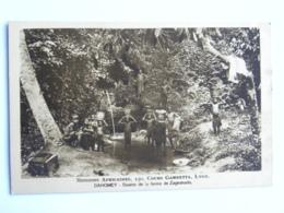 CPA AFRIQUE - DAHOMEY - Missions Africaines, 150 Cours Gambetta, LYON - Source De La Ferme De Zagnanado - Dahomey