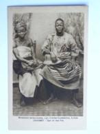 CPA AFRIQUE - DAHOMEY - Missions Africaines, 150 Cours Gambetta, LYON - Type De Race Fon - Dahomey