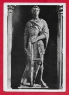 CARTOLINA VG ITALIA - S. GIORGIO - Statua Del Donatello - Museo Nazionale FIRENZE - 10 X 15 - 1955 - Sculture