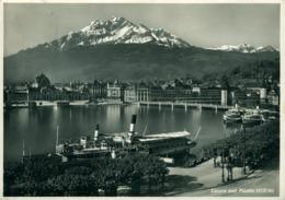 Lucerne Et Le Pilatus Photo Wehrli - LU Lucerne