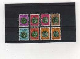 NOUVELLE  CALEDONIE     Taxe  1976  Y.T. N° 21  à  30  Incomplet  Oblitéré - Portomarken