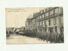 29 - CAMARET - Arrivée Du Bataillon Sur Le Quai Beau Plan Animé - Camaret-sur-Mer