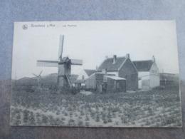 Breedene Sur Mer . Les Moulins.cachet Militaire . Nels - Bredene