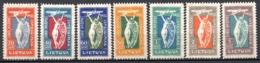 LITUANIE - 1921 - PA - N° 1 à 7 - (Commémoratifs De L'ouverture Du Service Postal Aérien) - Litauen