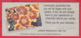248572 / Advertising - Ancienne Pochette De Photographie LERNER PROCESSING LABS , INC.  Minneapolis - Supplies And Equipment