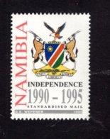 837886885 1995 SCOTT 778 POSTFRIS MINT NEVER HINGED EINWANDFREI (XX)  INDEPENDENCE 5TH ANNIV ARMS - Namibie (1990- ...)