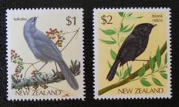 OISEAUX 1985 - NEUFS ** - YT 895/96 - MI 931/32 - Nouvelle-Zélande