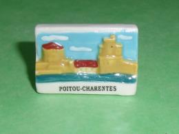Fèves / Pays / Région : Poitou Charentes , Plaque     T8 - Regionen