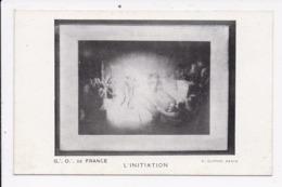 CP PHILOSOPHIE & PENSEES Franc Maconnerie L'Initiation - Philosophie & Pensées