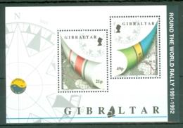 Gibraltar: 1992   Round The World Yacht Rally   M/S    MNH - Gibilterra