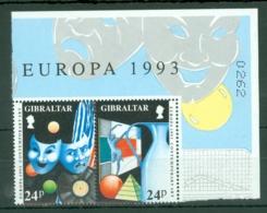 Gibraltar: 1993   Europa - Contemporary Art    MNH - Gibraltar