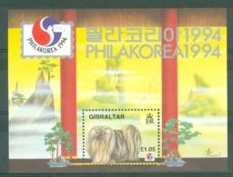 Gibraltar: 1994   Philakorea 94 International Stamp Exhibition  M/S  MNH - Gibilterra