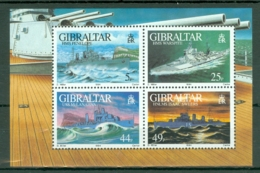 Gibraltar: 1994   WW II Warships (Series 2)  M/S  MNH - Gibilterra