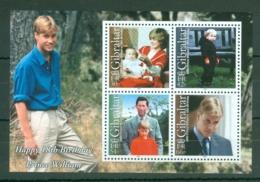 Gibraltar: 2000   18th Birthday Of Prince William   M/S  MNH - Gibraltar