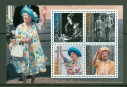 Gibraltar: 2000   Queen Mother's 100th Birthday   M/S   MNH - Gibraltar