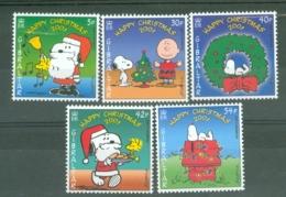 Gibraltar: 2001   Christmas - Peanuts      MNH - Gibilterra
