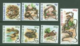 Gibraltar: 2001   Snakes   MNH - Gibilterra