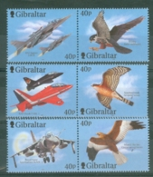 Gibraltar: 2001   Wings Of Prey (Series 3)  MNH - Gibilterra