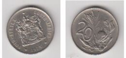 SUID AFRICA - 20 CENTS 1975 - Sudáfrica