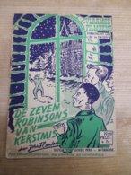 John Flanders Vlaamse Filmkens 259 De Zeven Robinsons Van Kerstmis Mooi - Libros, Revistas, Cómics