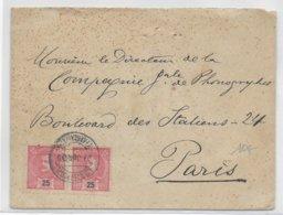 1909 - PORTUGAL - ENVELOPPE De VILA FRANCA De XIRA=> PARIS - Lettres & Documents