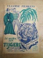John Flanders Vlaamse Filmkens 253 De Meester Der Tijgers Mooi - Libros, Revistas, Cómics