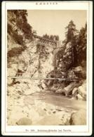 Italien / Italy: Schlitza-Brücke Bei Tarvis (Tarvisio)  Cca1890 - Places