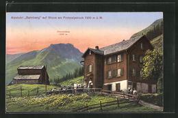 AK Stoos Am Frohnalpstock, Alpstubli Balmberg - SZ Schwyz
