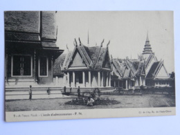 CPA ASIE - CAMBODGE - Pnom Penh - L'école D'administration - Cambodge