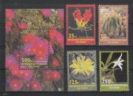 Kongo (Kinshasa) 2002**, Blumen, Sukkulenten / Kongo (Kinshasa), MNH, Flowers, Succulents - Sukkulenten