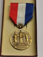 Luxembourg Médaille, Mutualité Luxembourgeois, Bronze - Altri